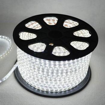 Utroligt LED strip 230V - 5 meter - 60 LED pr meter - Kold Hvid - LED BK44