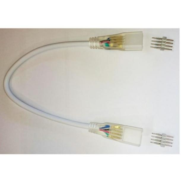 Mellemstykke til LED strip - 230v RGB