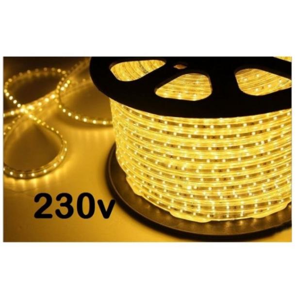 Smart LED Strip 230V - 5 meter - 60 led pr meter. - LED strips 230v OJ45