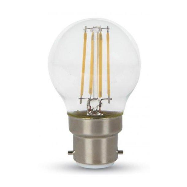 LED Kronepære - 4W - B22