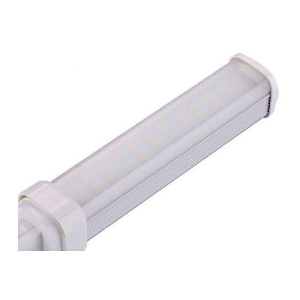 G24Q LED Pære - 5W - Mat glas - 120 Grader