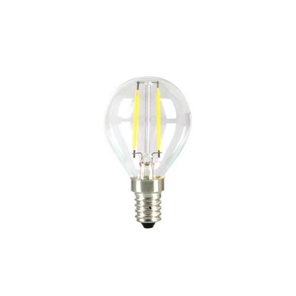 Fantastisk E14 LED pære 4W - Krone pære, Dæmpbar, Varm hvid, Filament, 2700k AT75