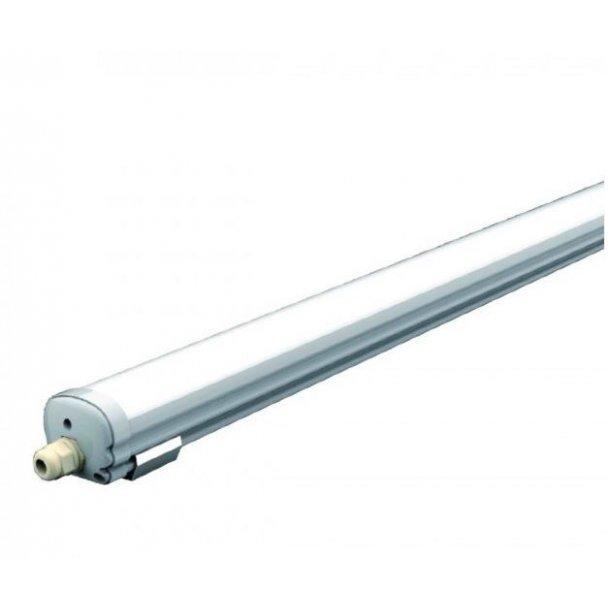 Kanon LED Armatur komplet, 120cm, 36w, Vandtæt - LED Industri Armature TE-57