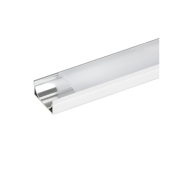 Aluminum profil til LED bånd, 2 meter