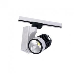 3 Faset LED Spot til lysskinner