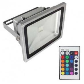 Projektør med RGB