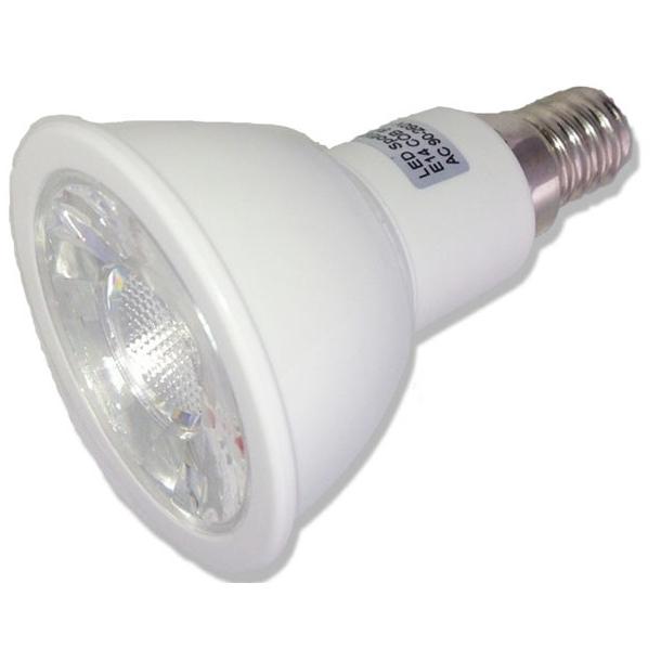 Fremragende E14 Lille fatning, Varm hvid LED spot, 5W, 60gr, 500 Lumen - LED UN23
