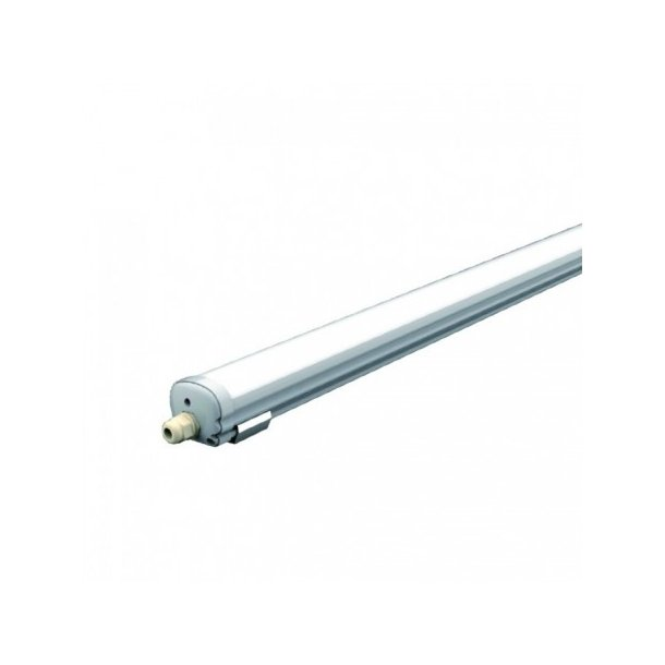 Komplet vandtæt LED armatur - 18 Watt - IP65 - 60cm