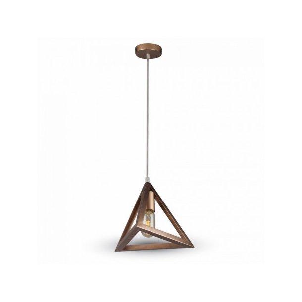 Geometrisk pendel lampe - E27