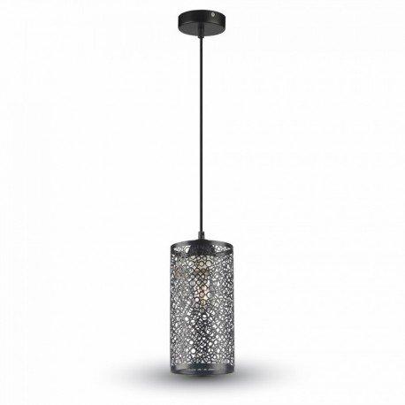 Pendel lampe Mat sort E27