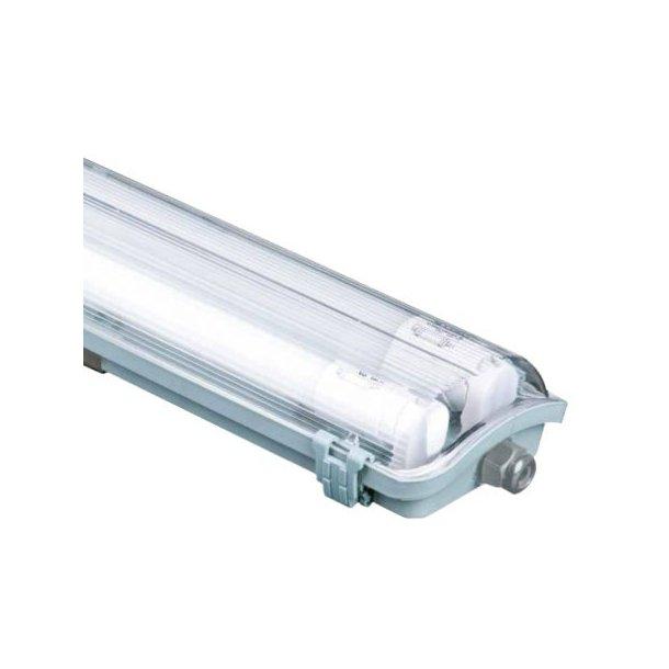 Kanon Vandtæt LED armatur inklusiv rør - 150 Cm - IP65 - LED Industri HG-19