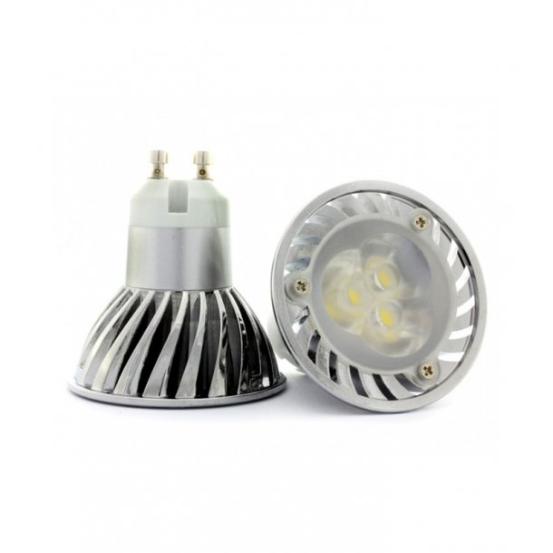 Ungdommelige LEDlife GU10 - 3W LED Spot, Dæmpbar, Ekstra varm hvid - LED pære EO02